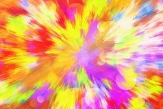 Abstrakta ljusa bakgrunder för färgbristning Arkivfoton