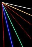 Abstrakta ljusa strålar stänger sig upp Royaltyfri Bild