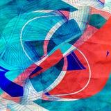 Abstrakta ljusa vågor för diagram Fotografering för Bildbyråer