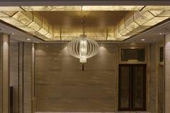 Abstrakta lyktor i formen av lampan arkivbilder