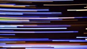Abstrakta lysande linjer bakgrund Arkivbild