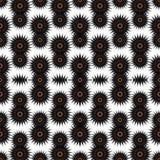Abstrakta mörka stjärnor på en vit bakgrundsvektorillustration Arkivfoto
