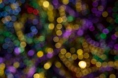 Abstrakta Mardi Gras Beads royaltyfria bilder
