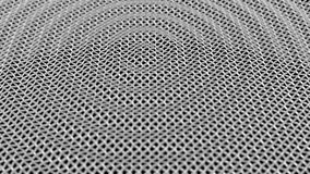 Abstrakta metalu fala Nawierzchniowa siatka DOF sprawnie zapętlać zbiory wideo