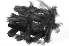 Abstrakta muśnięcia uderzenia i pluśnięcia farba na białym papierze wat royalty ilustracja