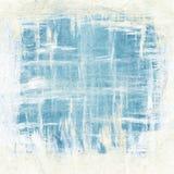 Abstrakta muśnięcie muska obraz, błękit i biel, ilustracja wektor