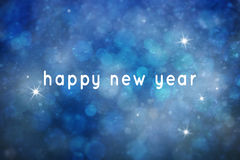 Abstrakta nowego roku zamazany szczęśliwy tło Fotografia Royalty Free