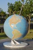 abstrakta obrazu świata gładka powierzchnia planety zmielonej Fotografia Stock