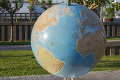 abstrakta obrazu świata gładka powierzchnia planety zmielonej Zdjęcie Stock