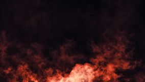 Abstrakta ogienia dymu mgły mgła na czarnym tle struktura elementy projektu podobieństwo ilustracyjny wektora zdjęcie royalty free