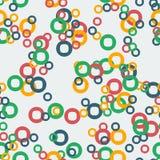 abstrakta okregów ilustraci wzoru bezszwowy wektor Zdjęcie Stock