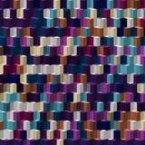 Abstrakta orange purpurfärgade vitblått färgar modelltapeten Arkivbild