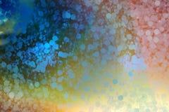 Abstrakta oskarpa ljus arkivfoto