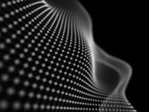 Abstrakta partiklar förtjänar bakgrund Vektorbakgrund eps 10 Suddighetsabstrac Royaltyfria Foton