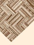 Abstrakta pasiasty geometryczny plemienny wzór Wektorowy czarny i biały tło Tekstura może używać dla tapety, deseniowe pełnie, my ilustracja wektor