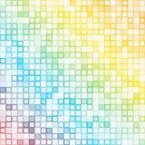 Abstrakta piksla mozaiki kwadratowy tło Zdjęcia Stock