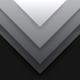 Abstrakta popielaty trójbok kształtuje tło Zdjęcie Royalty Free