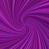 Abstrakta promienia ślimakowaty tło - wektorowa ilustracja od wirować promienie w kolorze tonuje Zdjęcia Royalty Free