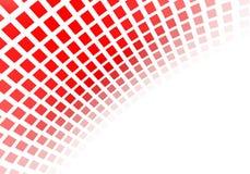 Abstrakta röda fyrkanter Royaltyfria Bilder