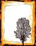 abstrakta ramowy drzewo royalty ilustracja