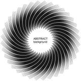 Abstrakta rastrerade linjer cirkelbakgrund Arkivfoto
