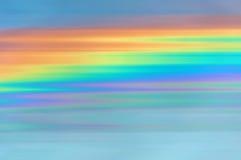 Abstrakta regnbågebakgrundsband Fotografering för Bildbyråer