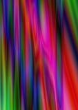 Abstrakta regnbågsskimrande färgrika strålar Arkivbild
