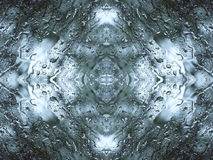 Abstrakta regndroppar Royaltyfri Fotografi