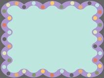 abstrakta rocznik ramowy royalty ilustracja