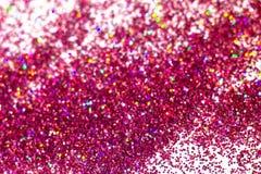 Abstrakta rosa färger blänker bakgrund med suddighetseffekt arkivfoton