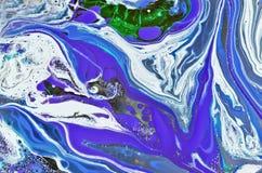 Abstrakta rozszerzania się kolory Obraz Royalty Free