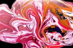 Abstrakta rozszerzania się kolory Fotografia Stock