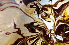Abstrakta rozszerzania się kolory Zdjęcie Royalty Free