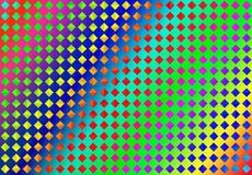 Abstrakta sömlösa färgrika diamanter i regnbågefärgbakgrund royaltyfri illustrationer