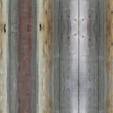 Abstrakta sömlösa grå färgband, stiliserad wood textur bakgrundsgalleriillustration mer mitt Royaltyfria Bilder