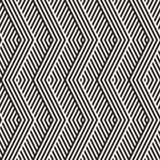 Abstrakta sicksackparallellband Stilfull etnisk prydnad seamless vektor för modell vektor illustrationer