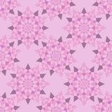 Abstrakta skuggor för rosa färger för stjärnamodell Royaltyfri Bild