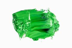 Abstrakta slaglängder för akryl- eller oljafärgborste arkivbild
