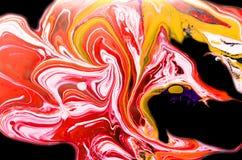 Abstrakta spridningfärger Royaltyfria Bilder