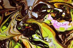 Abstrakta spridningfärger Royaltyfria Foton