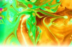 Abstrakta spridningfärger Arkivbilder