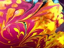 Abstrakta spridningfärger Fotografering för Bildbyråer