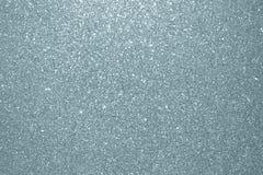 Abstrakta srebra błyskotliwości tekstury tło Błyskotliwa srebro adra lub olśniewające cząsteczki z błyskać lekkiego skutka tło fo obraz stock