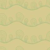 Abstrakta stylizowany bezszwowy wzór ilustracja wektor