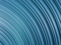 Abstrakta swirly kształta błękita tło 3d Zdjęcie Stock