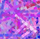 Abstrakta szczotkarska uderzeń tekstura Zdjęcie Royalty Free