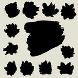 Abstrakta szczotkarski wektorowy tło, projekta element Zdjęcia Stock