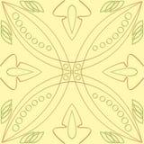 Abstrakta tło - kolor żółty płytka Obraz Royalty Free