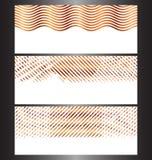 Abstrakta teknologibanermallar vektor illustrationer