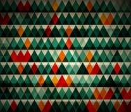 Abstrakta trójboka zielony tło Obrazy Royalty Free
